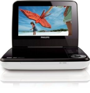 Tragbarer DVD Player von Philips