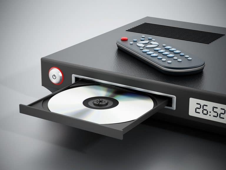 Blu-Ray-Player mit Fernbedienung