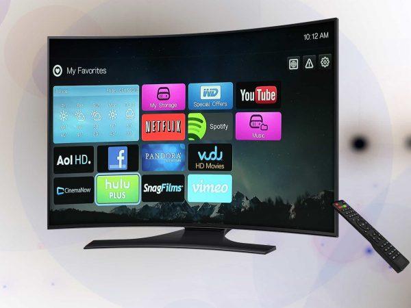 Beispielfoto Curved TV