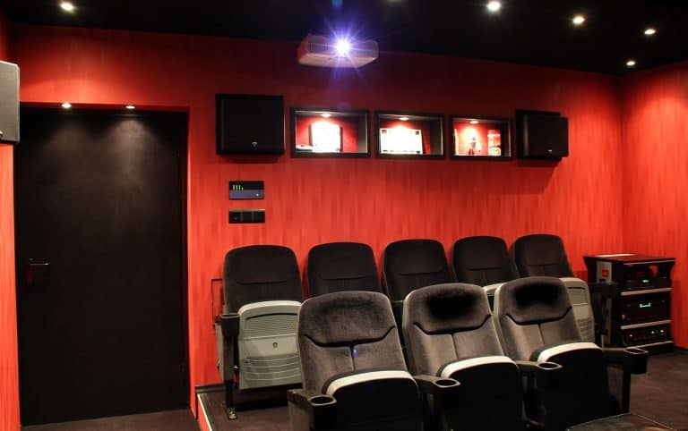 Kleiner Kinovorführraum