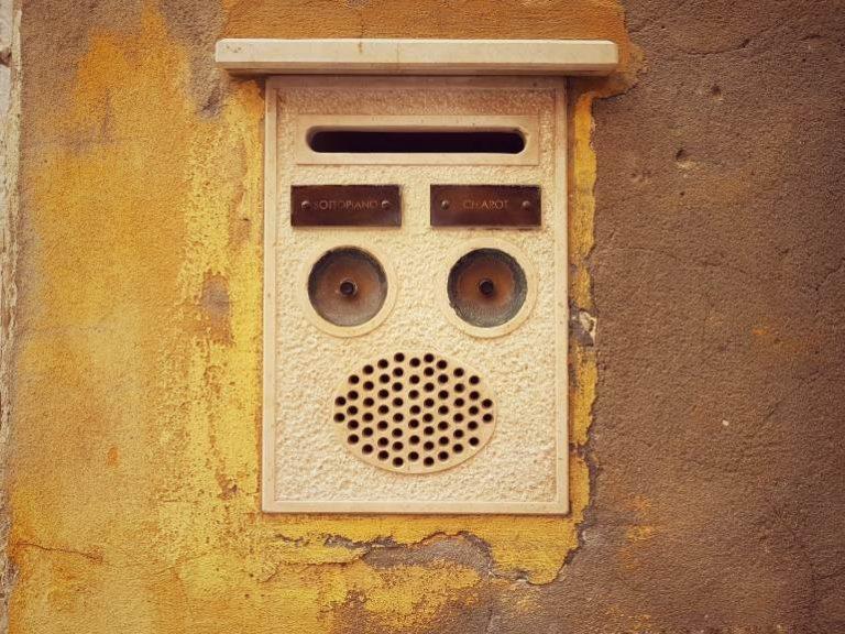 Sprechanlage mit Lautsprecher