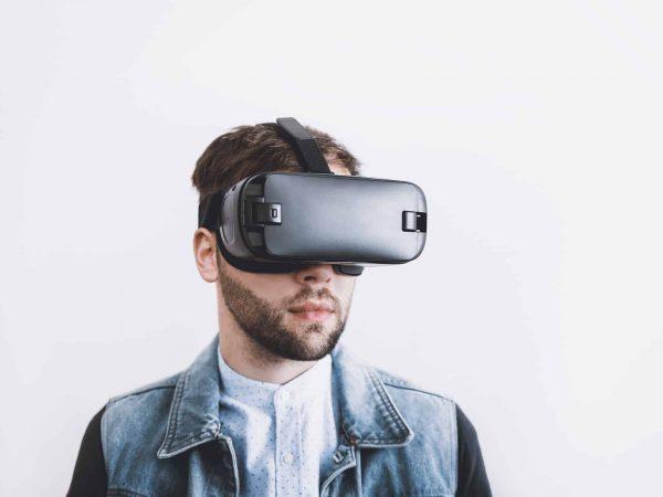 VR Brille Handy