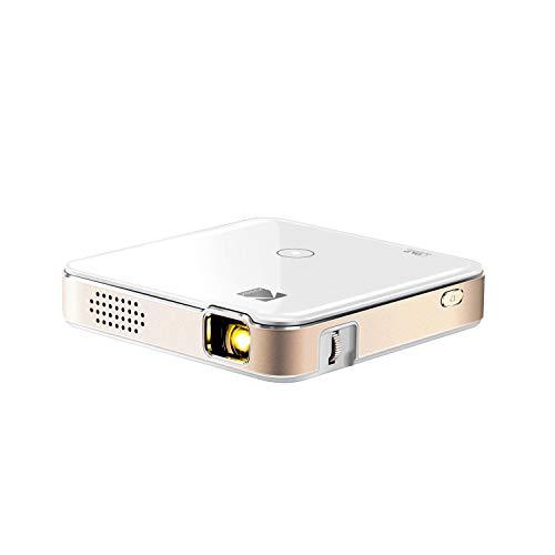 KODAK Luma 150 Tragbarer Projektor - Wiederaufladbarer 1080p HD LED DLP-Projektor - Eingebauter Lautsprecher, HDMI, USB und Micro SD - Kompatibel mit iOS- und Android-Geräten