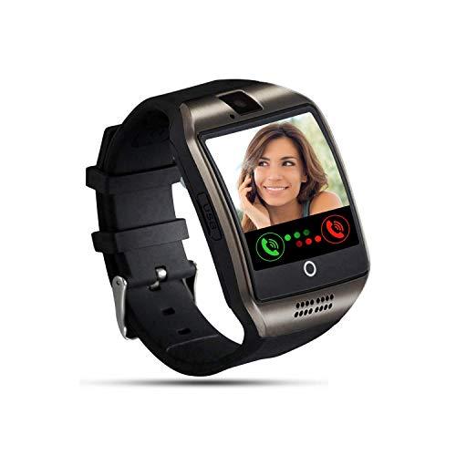 Smartwatch, Tipmant Smartwatch mit SIM Karte Slot Touchscreen Schrittzähler Kamera Stoppuhr Musiksteuerung Smart Watch Anruf SMS SNS Beachten für Android Huawei Xiaomi Sony LG für Damen Herren Kinder