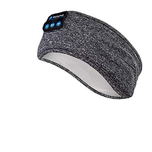 Schlafkopfhörer Bluetooth, Navly Schlaf Kopfhörer Bluetooth Sport Stirnband Kopfhörer Personalisierte Geschenke mit Ultradünnen HD Stereo Lautsprecher,Perfekt für Sport, Seitenschläfer, Meditation